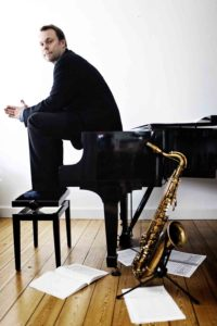 Lars Møller, tenor saxophonist, composer and conductor. Founder of Global Jazz Explorer Institute
