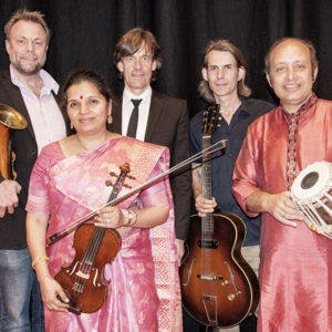 The group RagaJazz which features 2 of India's and 3 of Denmark's finest musicians